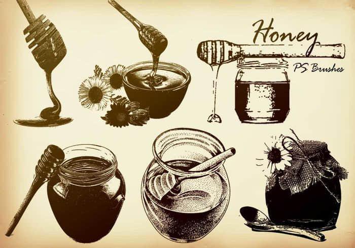 蜂蜜罐Photoshop另类笔刷