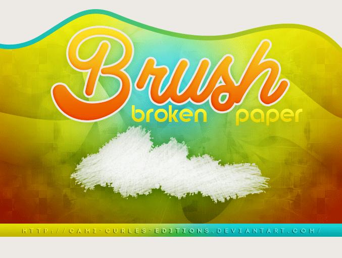 残破的纸张纹理PS素材下载 纸张笔刷  background brushes