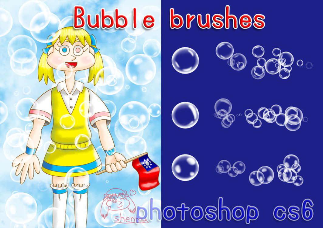 梦幻泡泡、半透明水泡、高光气泡、水泡泡、吹泡泡、泡沫Photoshop笔刷下载 透明泡泡笔刷 泡泡笔刷 水泡笔刷 气泡笔刷 半透明泡泡笔刷  water brushes