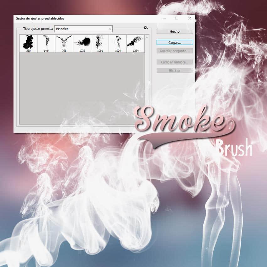 7种真实的烟雾、香烟雾气、水蒸气烟雾效果PS笔刷素材