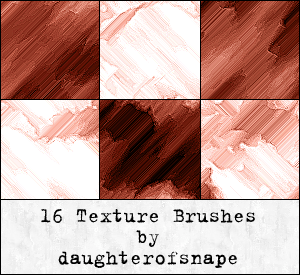 16种抽象颜料涂抹痕迹Photoshop另类笔刷 涂抹笔刷 抽象笔刷  other brushes