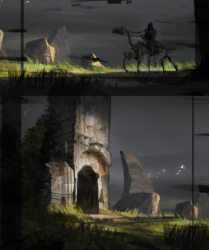CG绘画Photoshop笔触笔刷素材下载