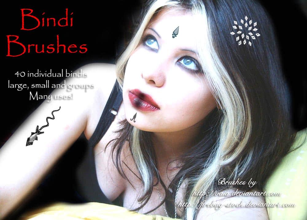 宝石与纹身纹饰混合图案Photoshop非主流装饰笔刷