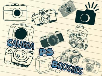 可爱的相机、卡通相机PS美图照片笔刷 美图笔刷 相机笔刷 照片装饰笔刷 照片美化笔刷 卡通相机笔刷  %e5%8d%a1%e9%80%9a%e7%ac%94%e5%88%b7