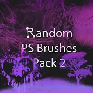有非主流爱心图案、大树图案、混沌流烟效果背景Photoshop杂类笔刷下载 杂类笔刷  other brushes