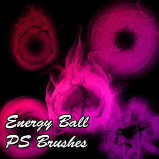 能量球效果Photoshop光影笔刷 能量球笔刷 光影笔刷  light brushes