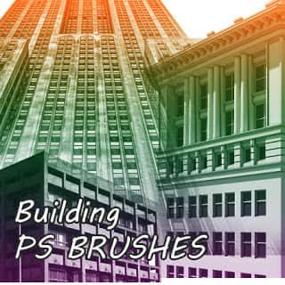 高楼大厦建筑物Photoshop笔刷素材 建筑笔刷 建筑物笔刷 大楼笔刷  %e5%bb%ba%e7%ad%91%e7%ac%94%e5%88%b7