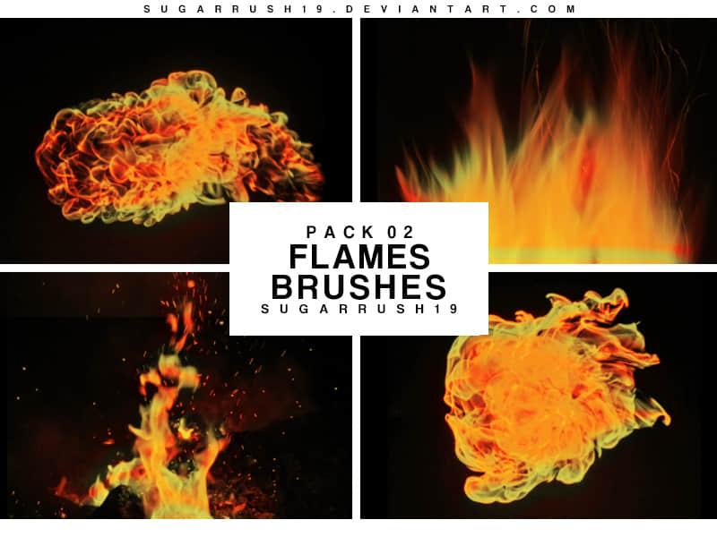 熊熊火焰特效、燃烧的火焰火苗图形Photoshop火焰笔刷素材下载 着火笔刷 燃烧笔刷 火苗笔刷 火焰特效笔刷  flame brushes