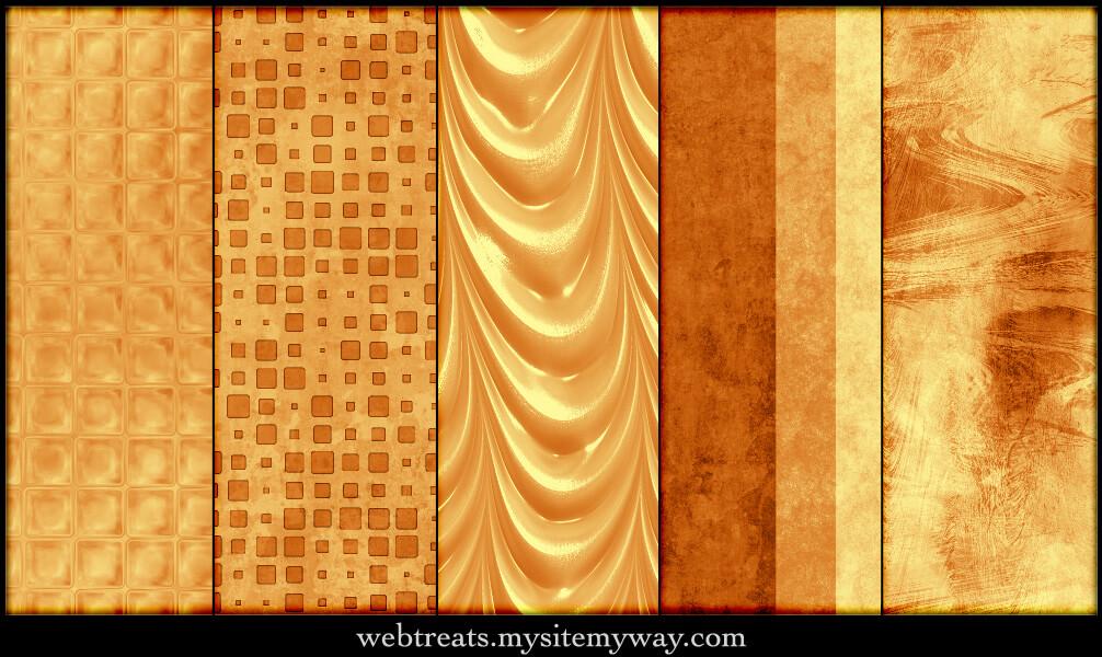 温暖的琥珀琉璃之色填充模式Photoshop图案底纹素材.pat