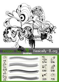 抽象线条艺术组合图案PS笔刷素材 非主流艺术笔刷 艺术笔刷 抽象笔刷  %e7%ba%bf%e6%9d%a1%e7%ac%94%e5%88%b7
