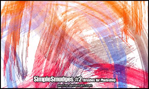 油漆、水彩效果毛刷、刷子涂抹挥洒痕迹PS笔刷素材下载 水彩笔刷 毛刷笔刷 刷子笔刷 刷子涂抹笔刷  photoshop brush