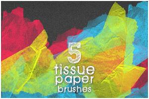纸张湿掉的褶皱效果PS背景纹理笔刷