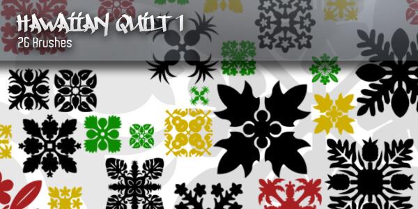 经典中东风格的印花、地毯、墙壁印染图案PS笔刷素材下载 穆斯林花纹笔刷 民族花纹笔刷 印花笔刷 伊斯兰花纹笔刷 中东花纹笔刷  flowers brushes