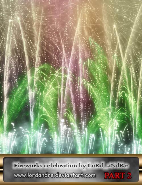 壮观的烟火、烟花爆炸燃放效果Photoshop笔刷素材下载 烟花笔刷 烟火笔刷  flame brushes