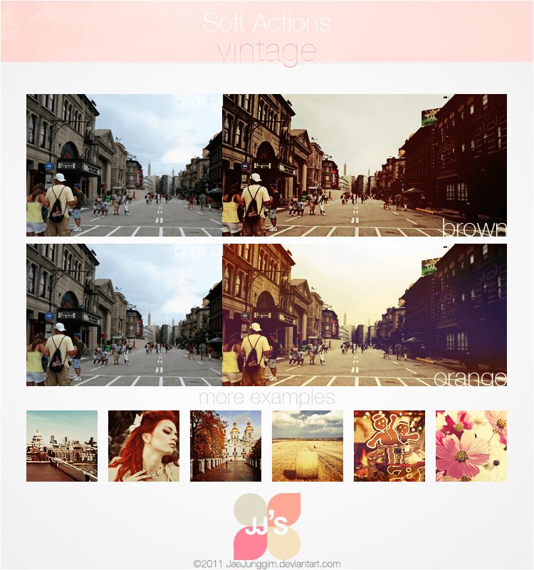 19个Photoshop动作相片滤镜效果免费下载 - .atn格式文件素材
