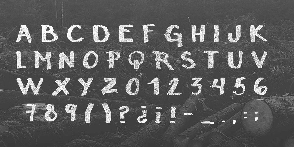 15种免费水彩风格英文字体下载(含可免费商用字体)