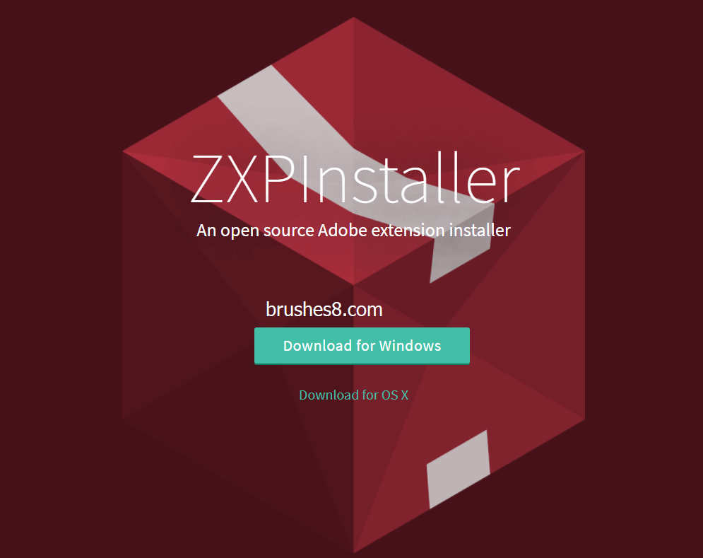 PS插件ZXP格式如何安装? PS扩展安装神器 -  ZXPInstaller   精简版Photoshop也能装ZXP插件