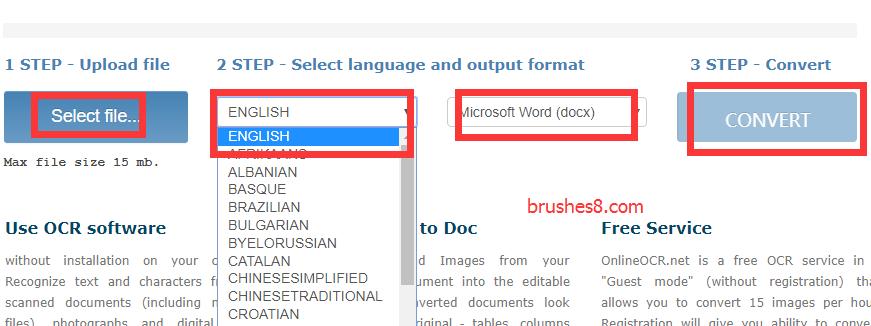 免费在线文字识别服务:Free Online OCR 快速图片转文本工具