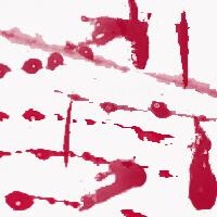 血迹、血液痕迹纹理Photoshop血笔刷