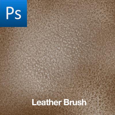 皮制品、皮革纹理图案PS笔刷素材下载