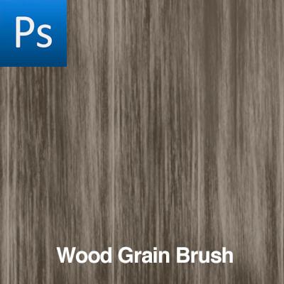 木头纹理、木板材质图案Photoshop笔刷素材下载