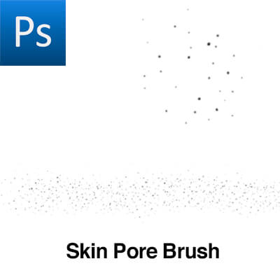 皮肤上的毛孔纹理PS笔刷素材下载
