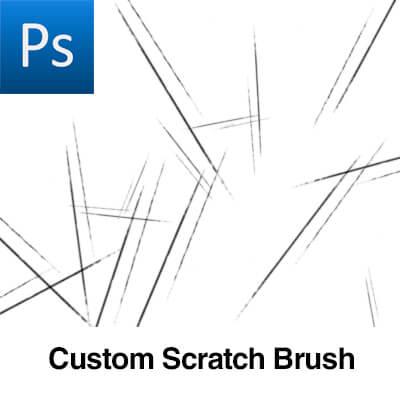 金属摩擦纹理、金属板磨损痕迹PS笔刷素材下载