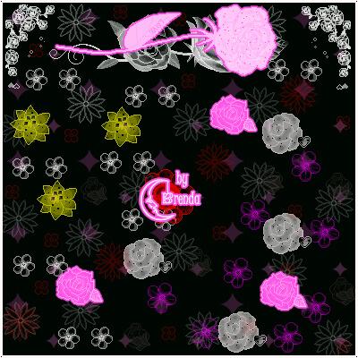 玫瑰花花朵、鲜花花朵图案PS笔刷素材下载