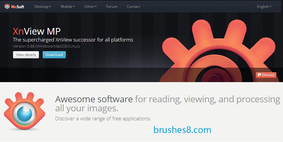 XnView - 多功能图像浏览器、多媒体播放器!支持webp格式、 HEIC格式!!