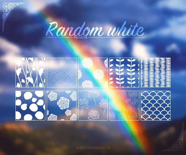植物叶子、鲜花花朵图案Photoshop填充图案底纹素材 Patterns 下载