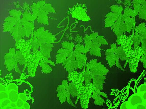 葡萄藤、植物藤蔓Photoshop笔刷素材下载