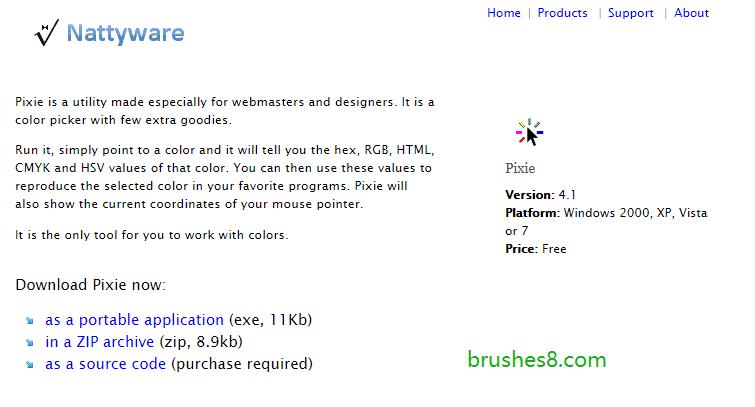 实时连续拾色器 pixie - 不占用鼠标、不影响你使用其它软件!