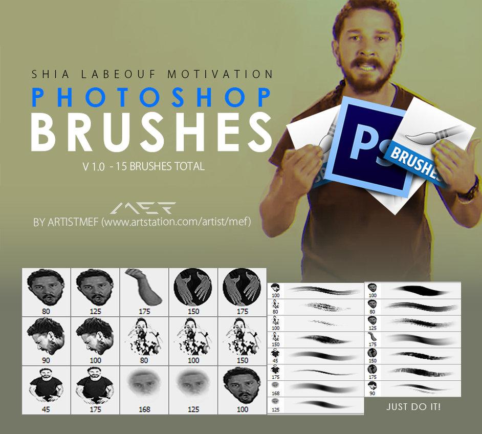 另类奇葩的概念抽象画笔笔触Photoshop绘画笔刷素材 #.2