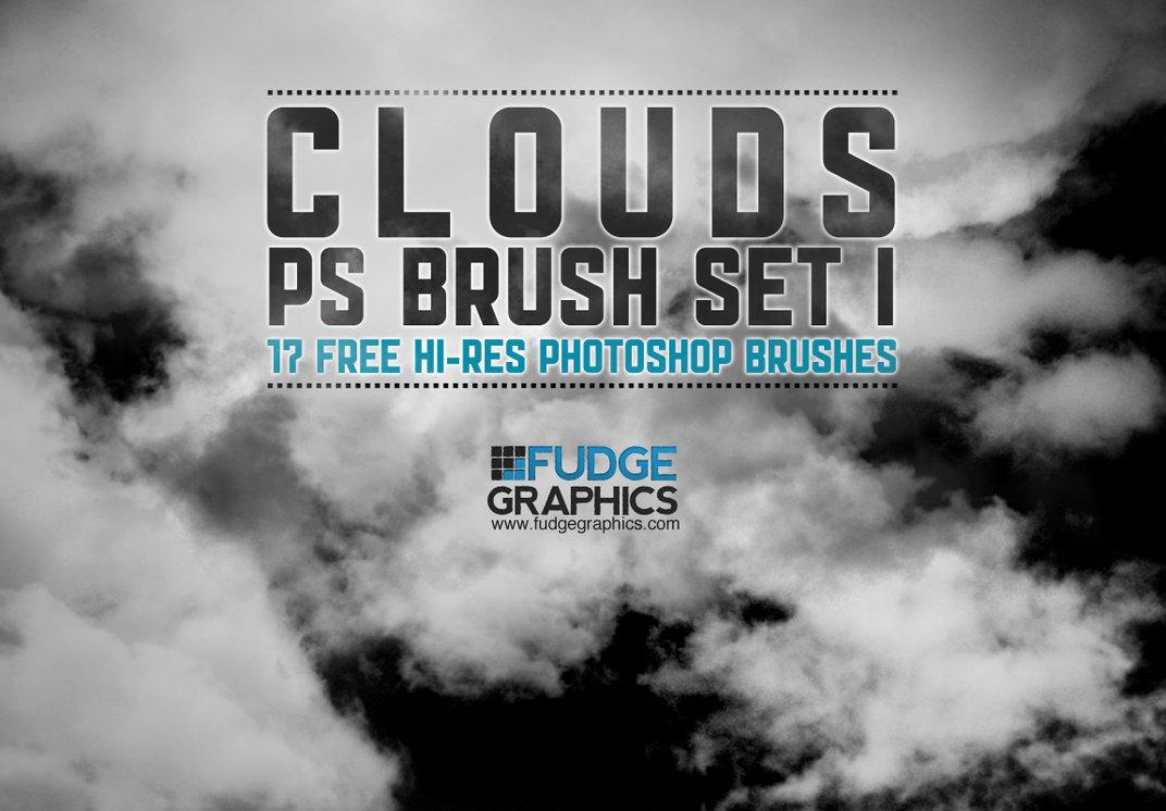 17种免费高清云朵、云彩、白云素材PS笔刷下载