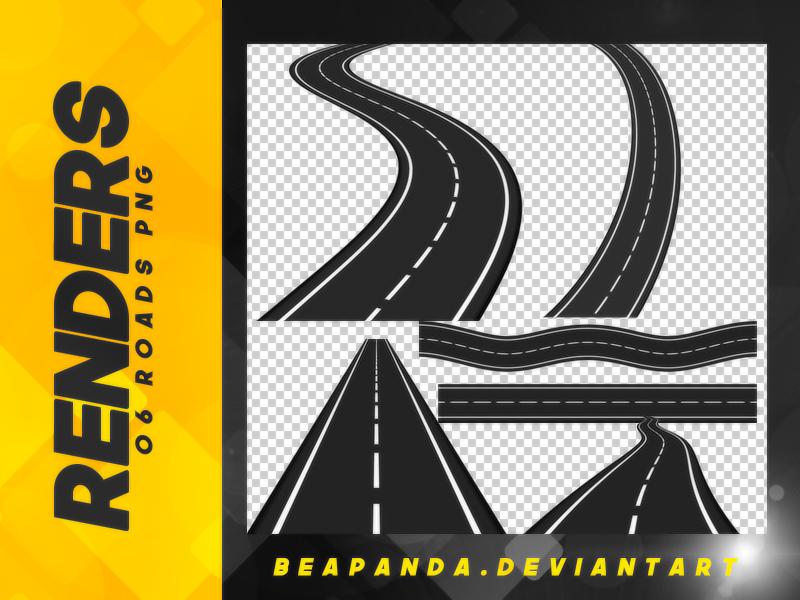 高速公路纹理、铺装路面、柏油路PS笔刷下载(PNG免扣图片素材)