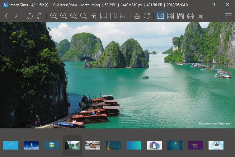 设计师的看图利器 - ImageGlass 5(专为大尺寸图片而生的图片浏览器)