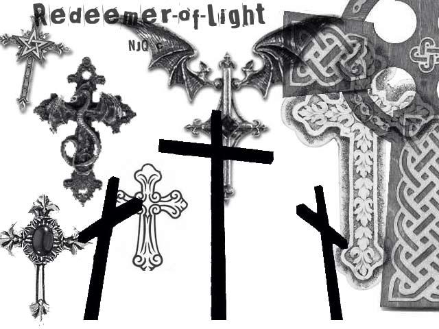 十字架挂饰素材PS笔刷下载
