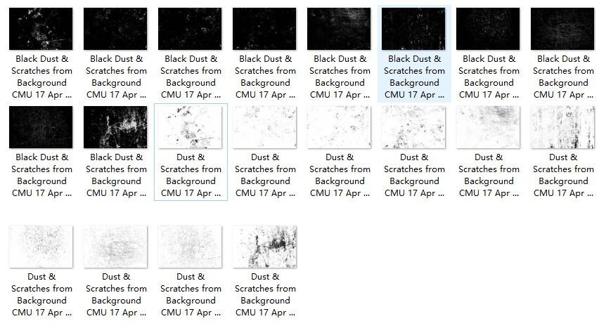 10种免费的划痕、破损老旧PS纹理素材(高清JPG图片格式)