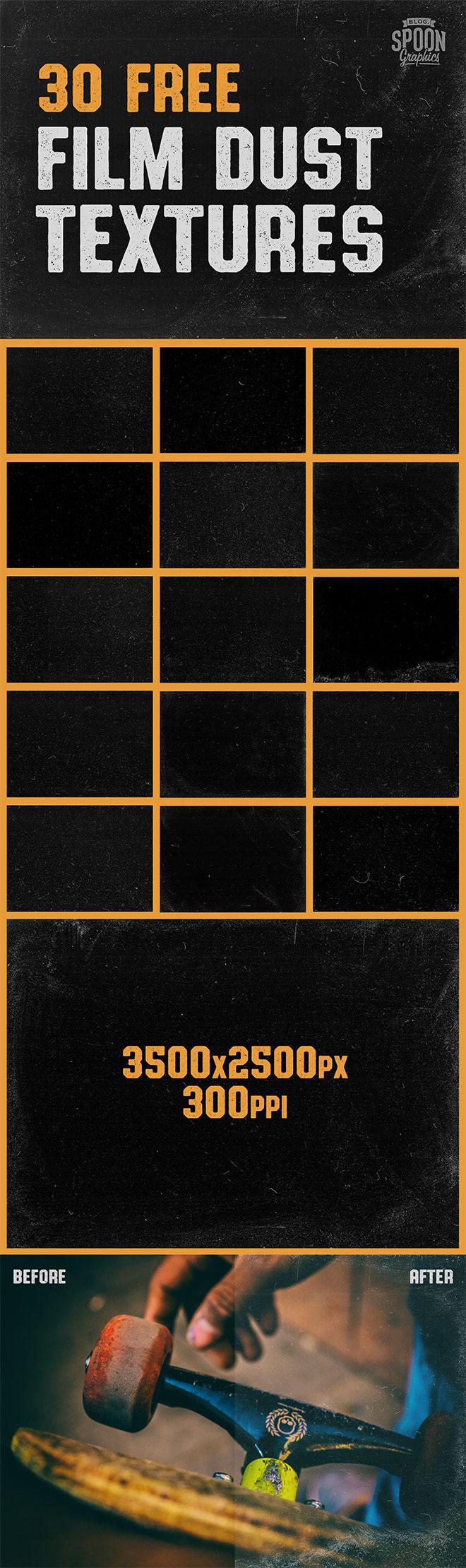 30种超高清旧胶片颗粒纹理、旧照片风格的背景PS素材(JPG格式,请使正片叠底效果)