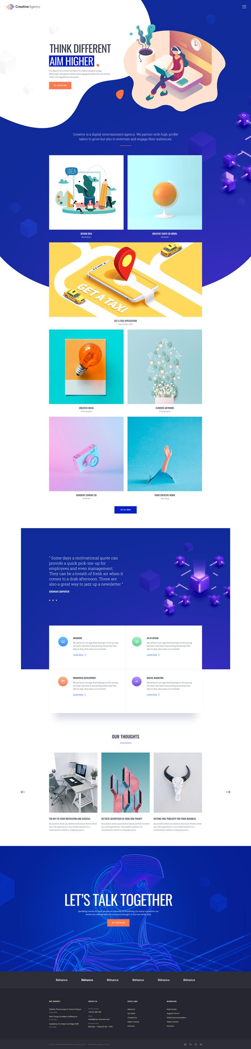 MI CREATIVE - 视觉设计web模板草图设计素材(sketch源文件格式下载)