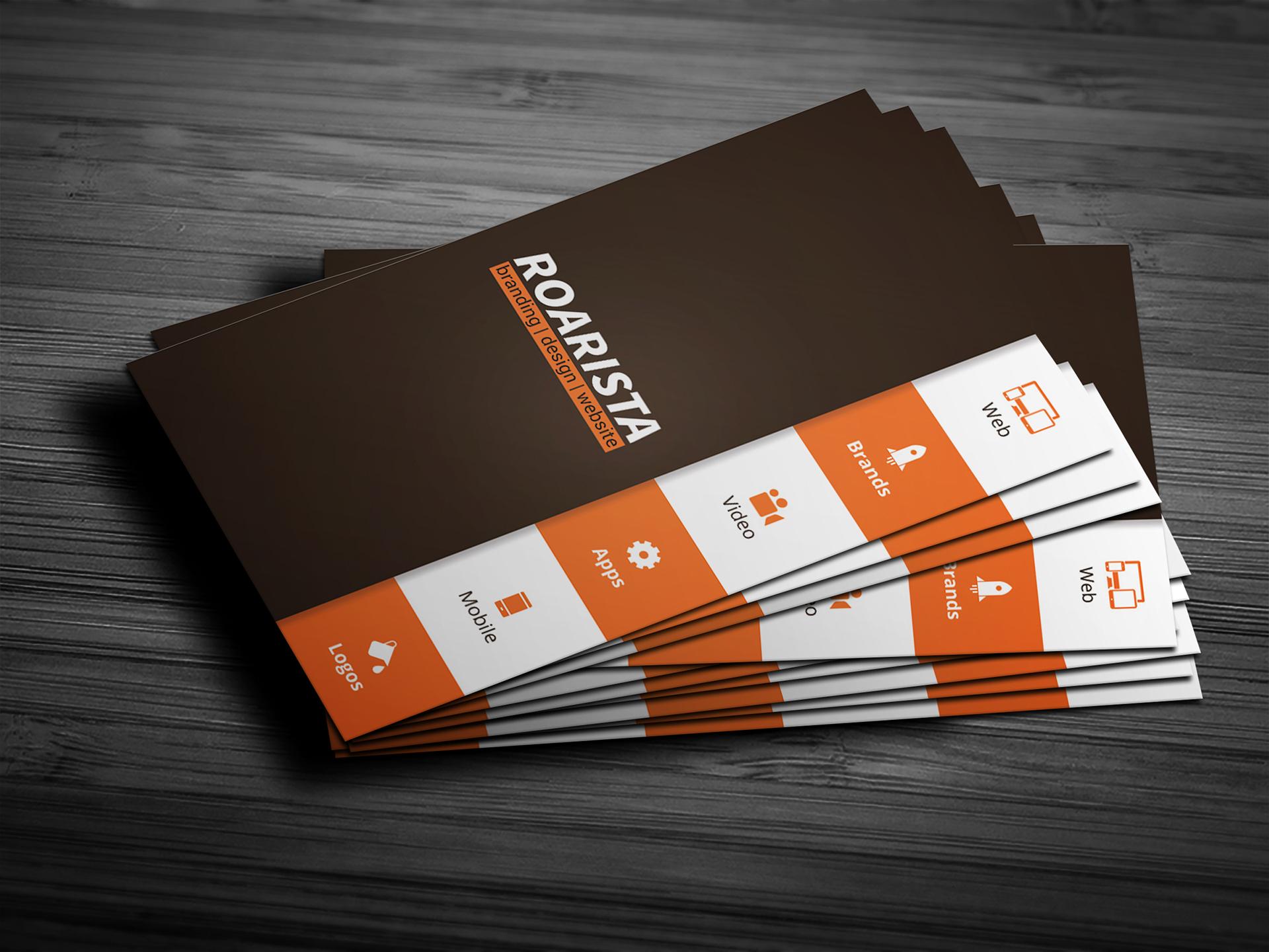 热门的7种商业名片模板PSD源文件下载(可免费商用)