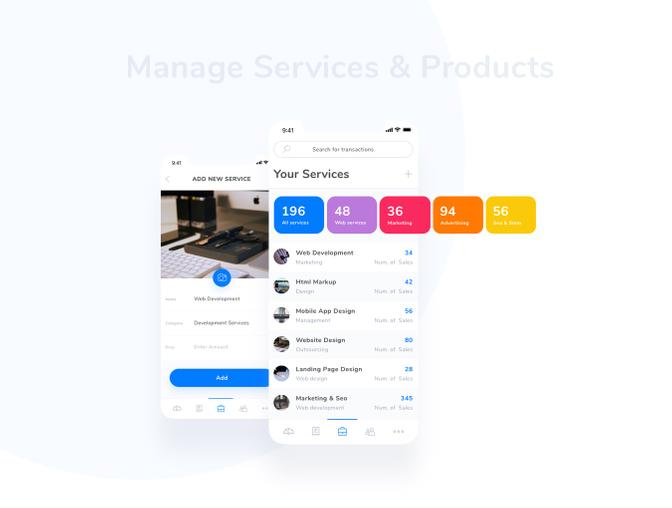 App UI设计之付款界面 - Sketch素材源文件模板下载