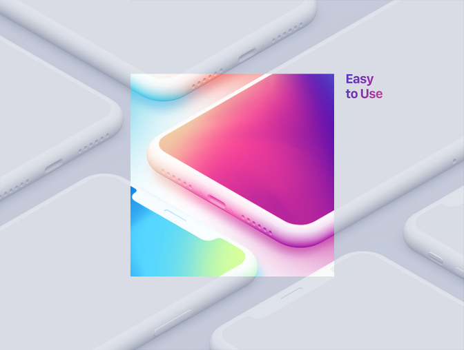 iPhone X 等比例样机、iPhone 手机模板 - Sketch模板素材免费下载