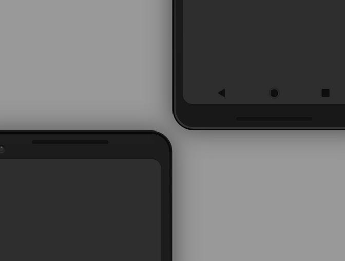 Pixel 2 XL样机素材、模型 - Adobe XD模板素材免费下载