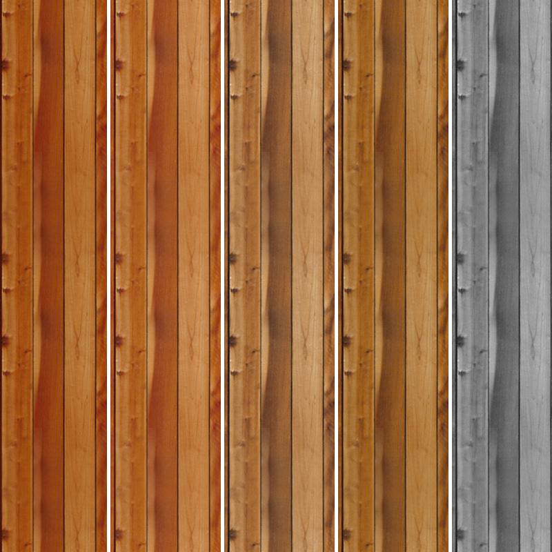5种木板纹理材质PS填充底纹素材下载