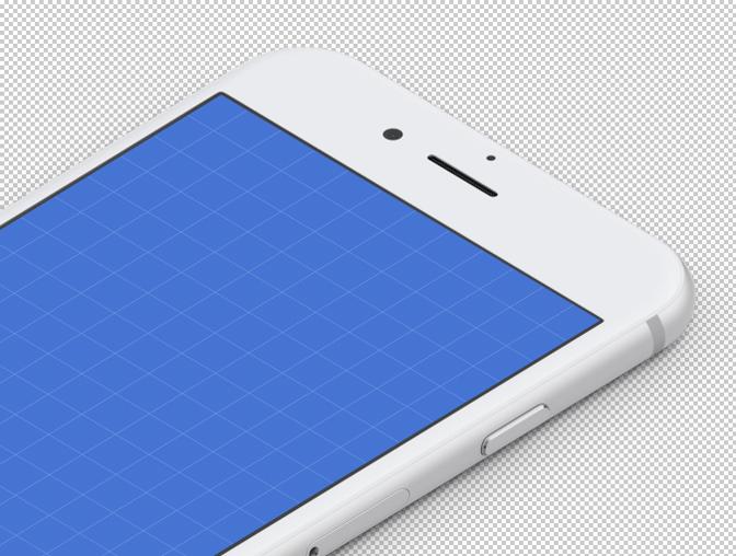 4K 等距 iPhone 模型素材 - PSD源文件下载