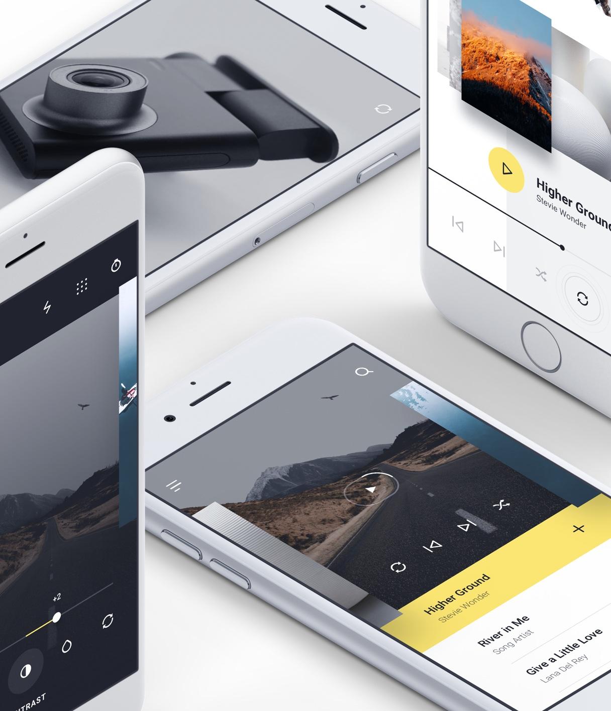 多用途iOS UI工具包模板 - Adobe XD模板 -  Sketch 设计素材免费下载