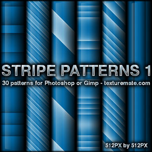 蓝色条纹线条纹理图案Photoshop填充图案底纹素材.pat 免费下载
