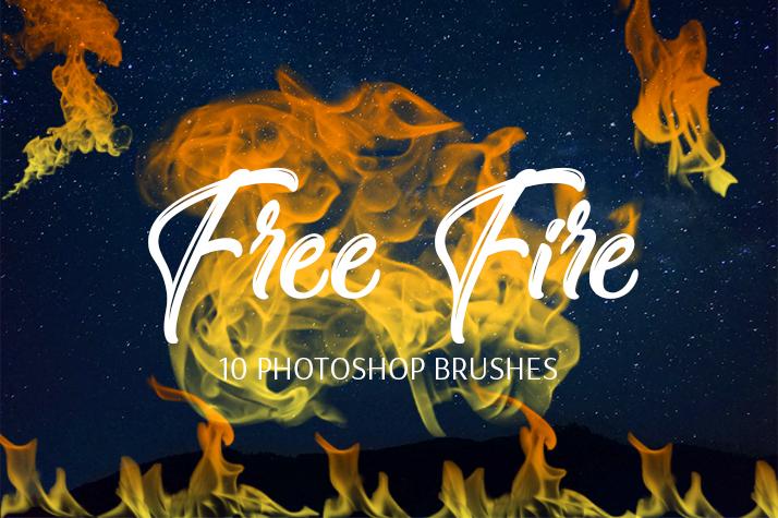 真实火焰、焰火纹理效果Photoshop笔刷素材下载