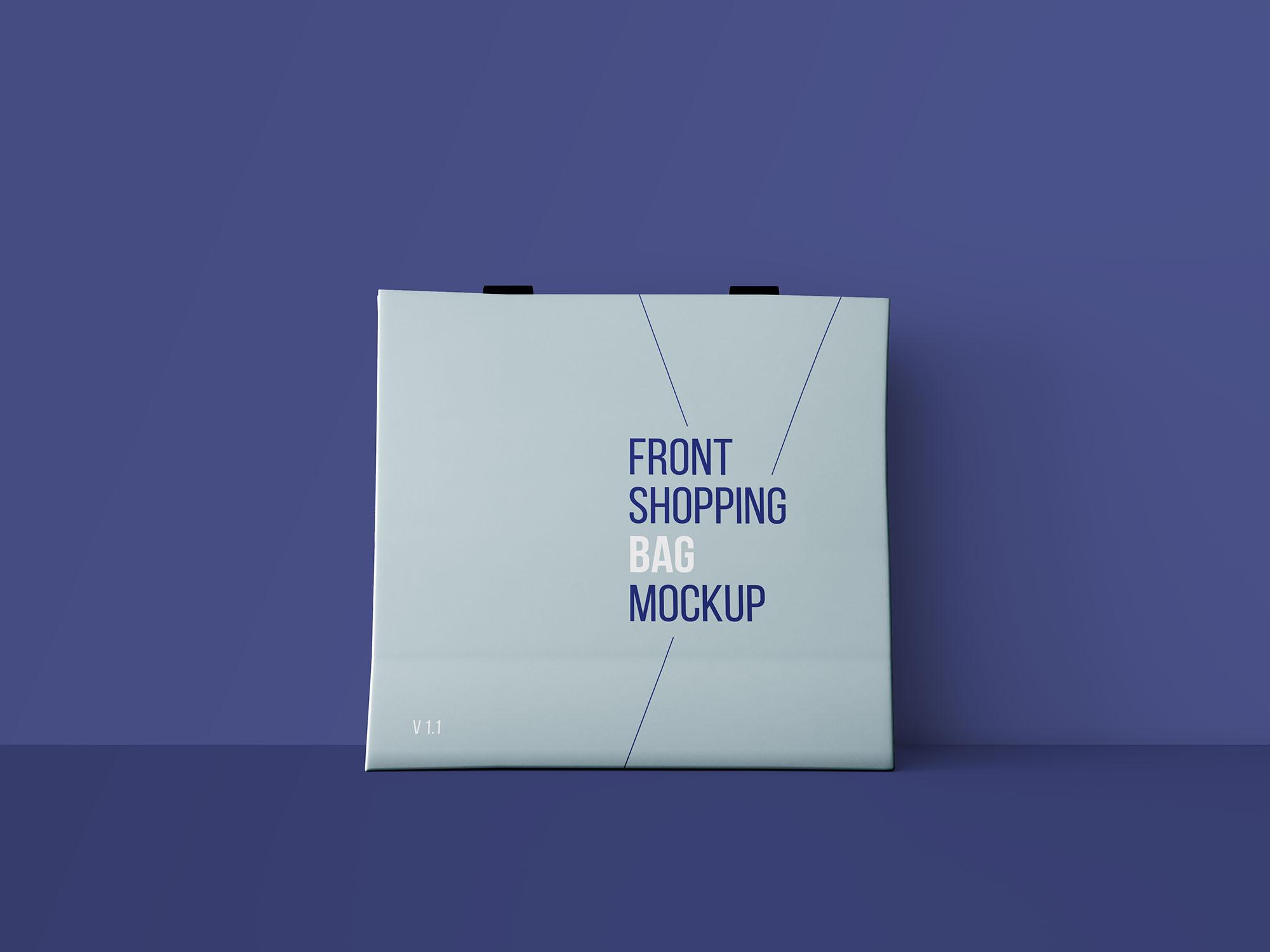时尚购物袋、纸袋、拎袋、手袋模版素材 - PSD源文件样机素材